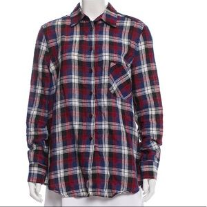 Tops - Rachel Comey plaid shirt.